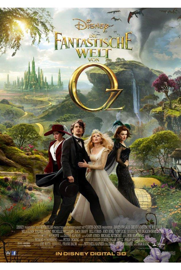 Die fantastische Welt von Oz im Kino