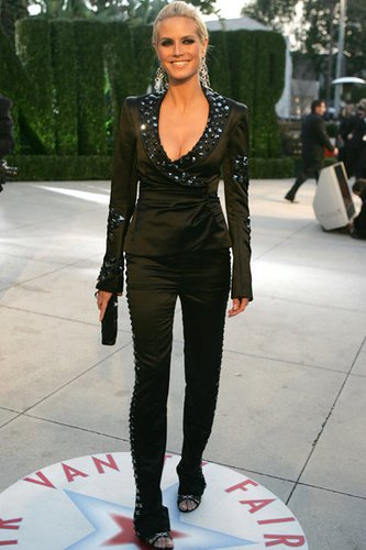 Heidi Klum bei Vanity Fair