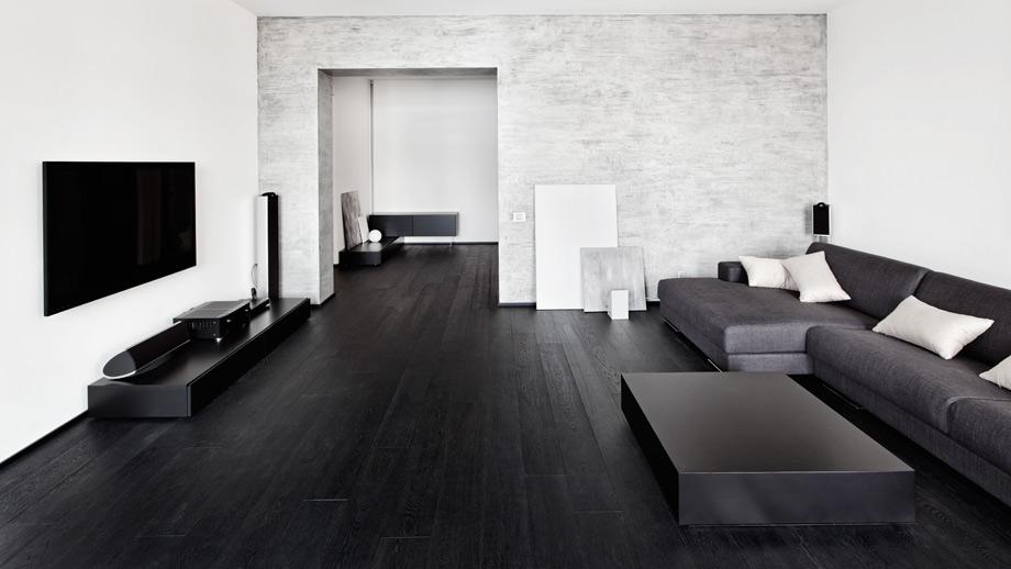 Schwarz Ist In Die Neuen Design Trends Der Trend Farbe