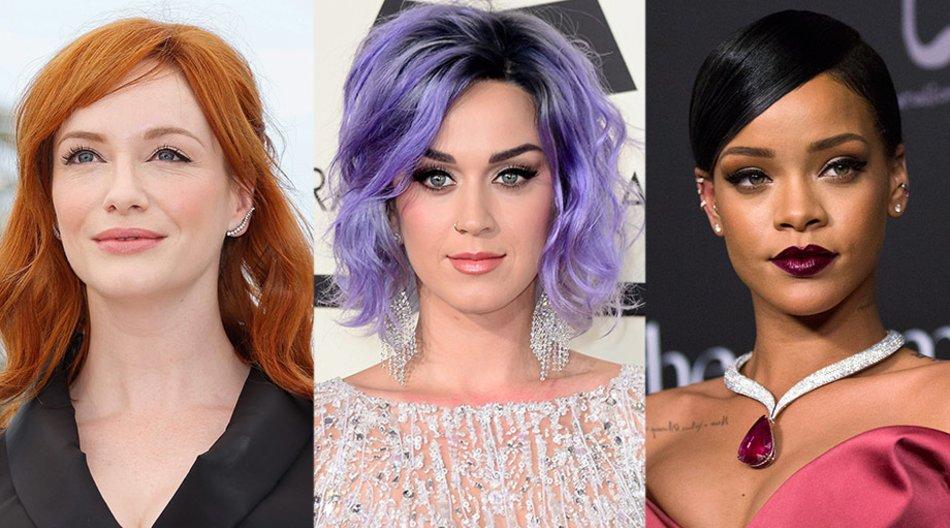 Christina Hendricks, Katy Perry, Rihanna