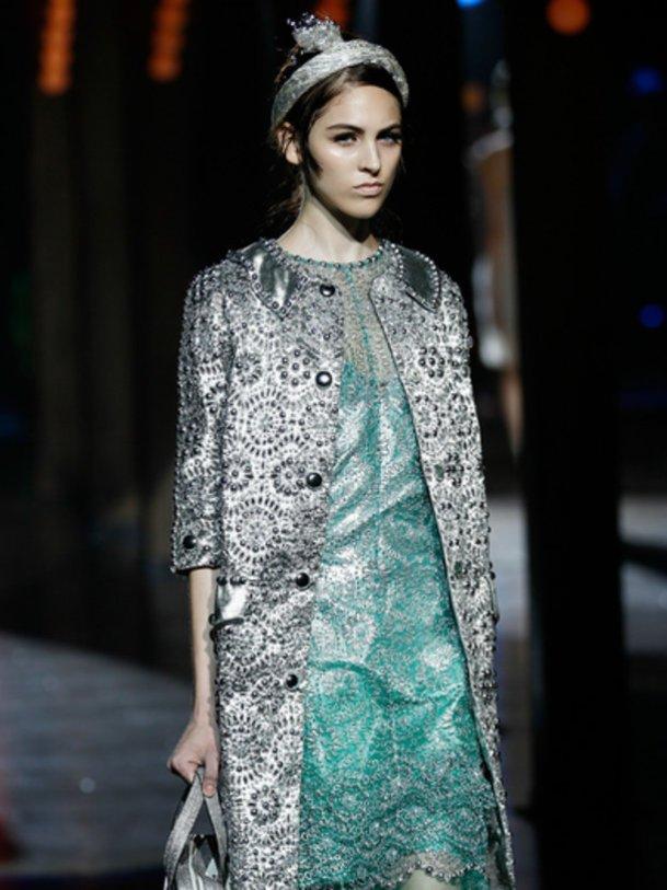 Model bei Marc Jacobs.