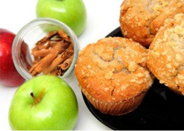 Apfelmuffins für den kleinen Hunger