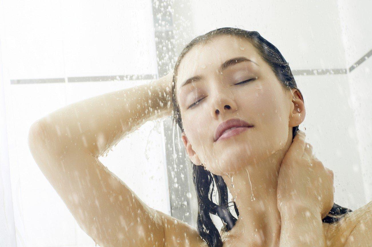 Morgens oder abends duschen