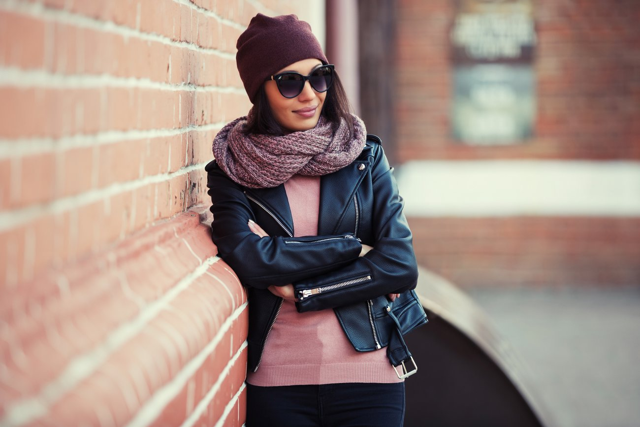 Winteroutfit Sonnenbrille