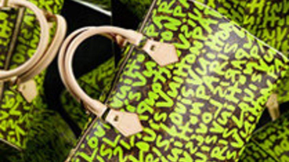 Wiederauferstehung: Der Graffiti-Style bei Louis Vuitton