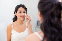Gesichtsreinigung bei trockener Haut