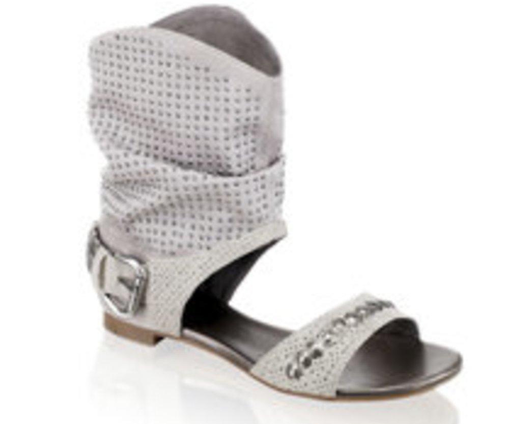 Schaftsandalen, Ballerinas, Sandaletten – Sommer Schuhe 2010