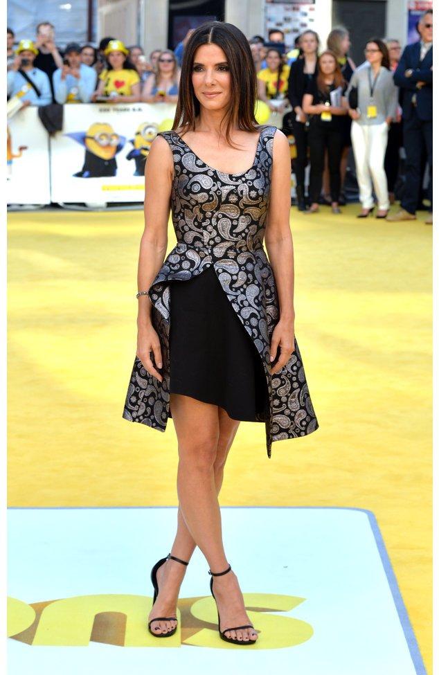 """Sandra Bullock bei der Premiere von """"Minions"""""""