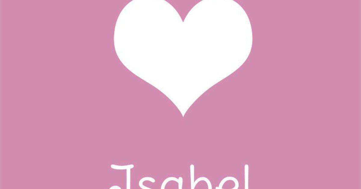 Bedeutung Isabel