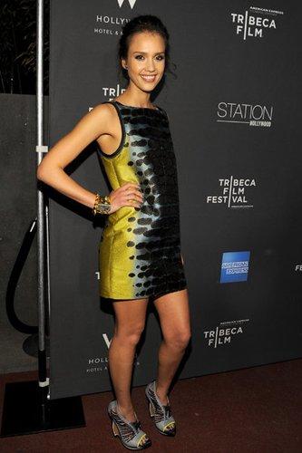 Jessica Alba: Modebewusst