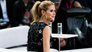 PALMA DE MALLORCA, SPAIN - MAY 12: Heidi Klum during the finals of 'Germany's Next Topmodel' at Coliseo Balear on May 12, 2016 in Palma de Mallorca, Spain. (Photo by Matthias Nareyek/Getty Images)