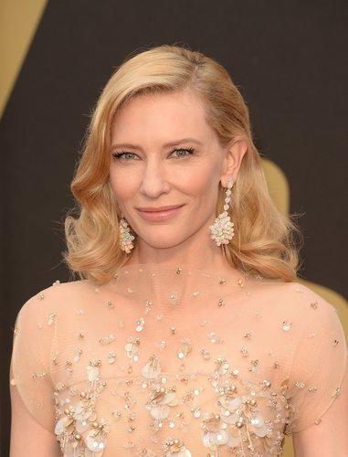 Cate Blanchett: Elegante mittellange Locken