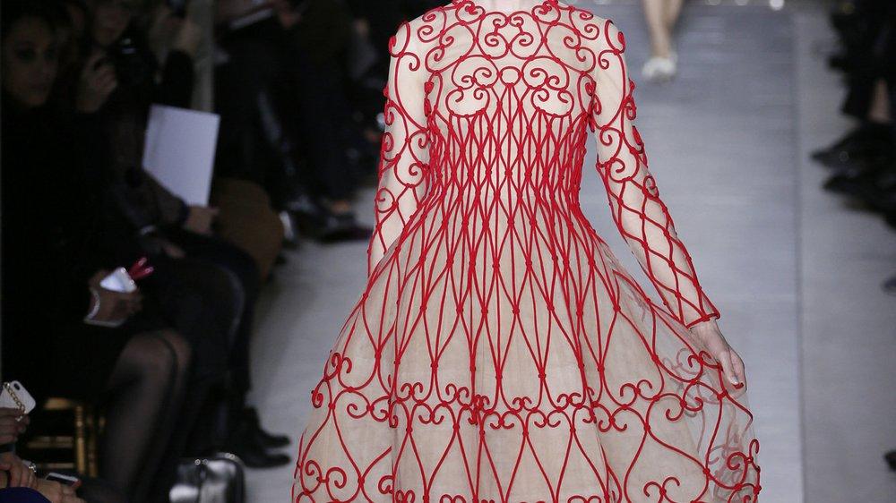 Haute Couture Paris: Valentino im verwunschenen Garten