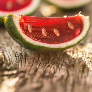 Wassermelonen Wodka Shots