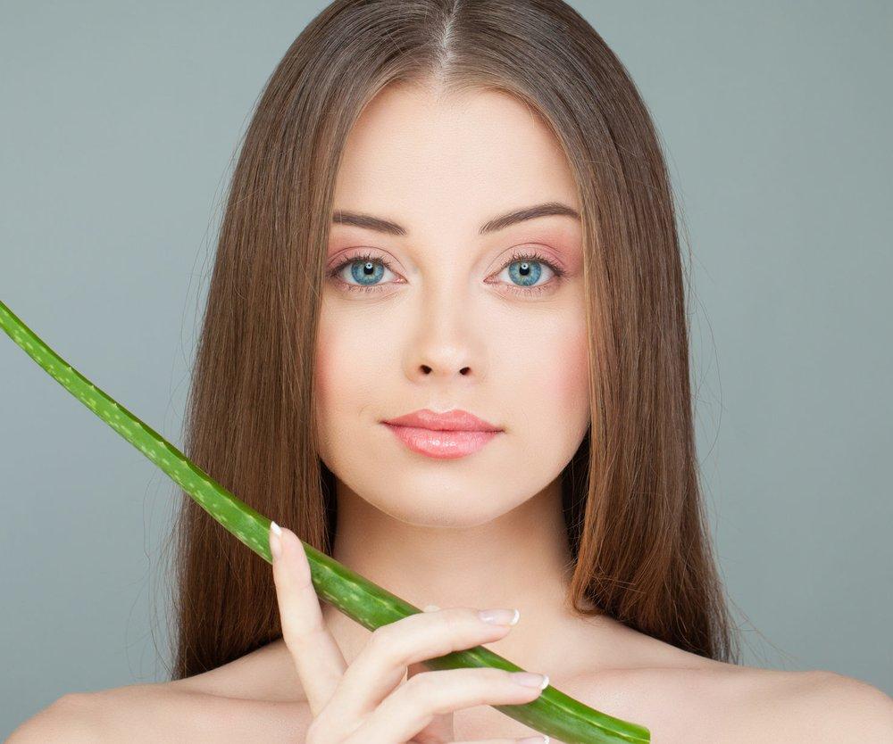 Aloe Vera gegen Pickel