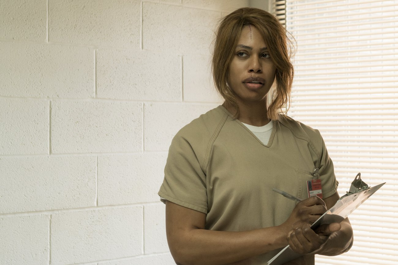 "Laverne Cox in ""Orange Is The New Black"""