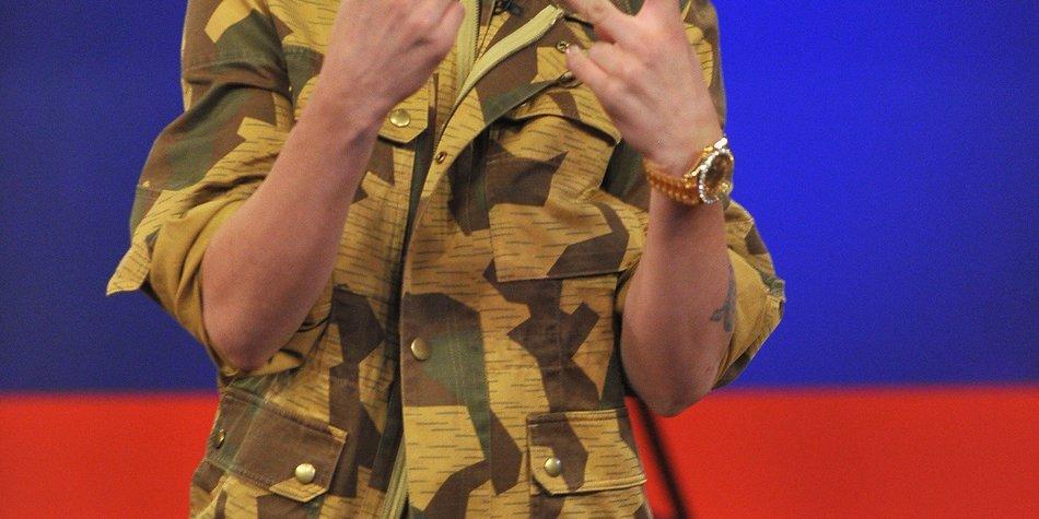 Justin Bieber versteigert benutztes Handtuch