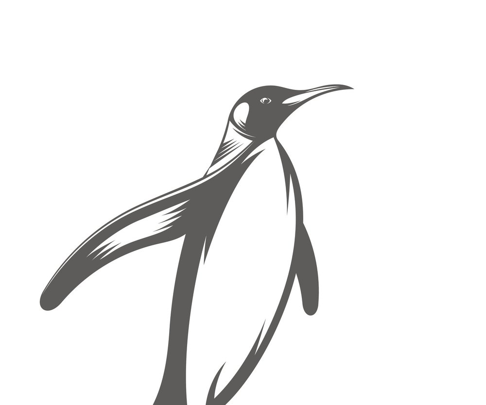 Pinguin-Tattoo