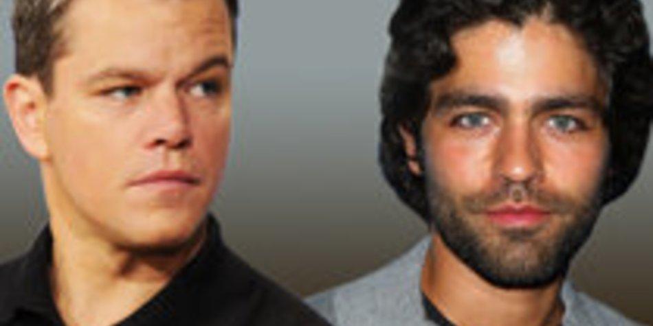 Matt Damon schreit Adrien Grenier an