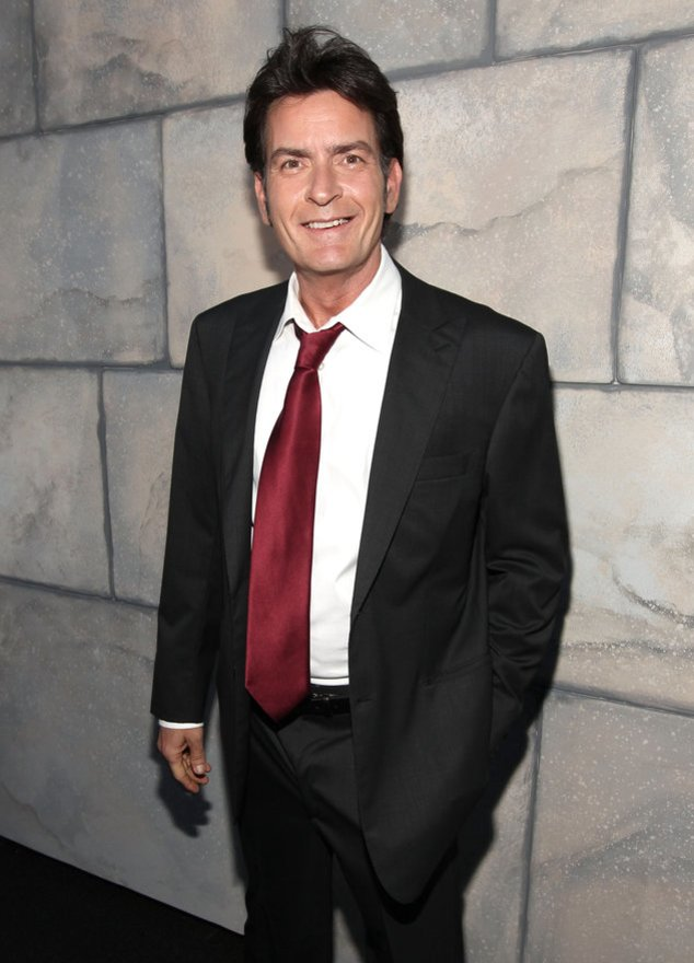 Charlie Sheen bei einem Event in Los Angeles
