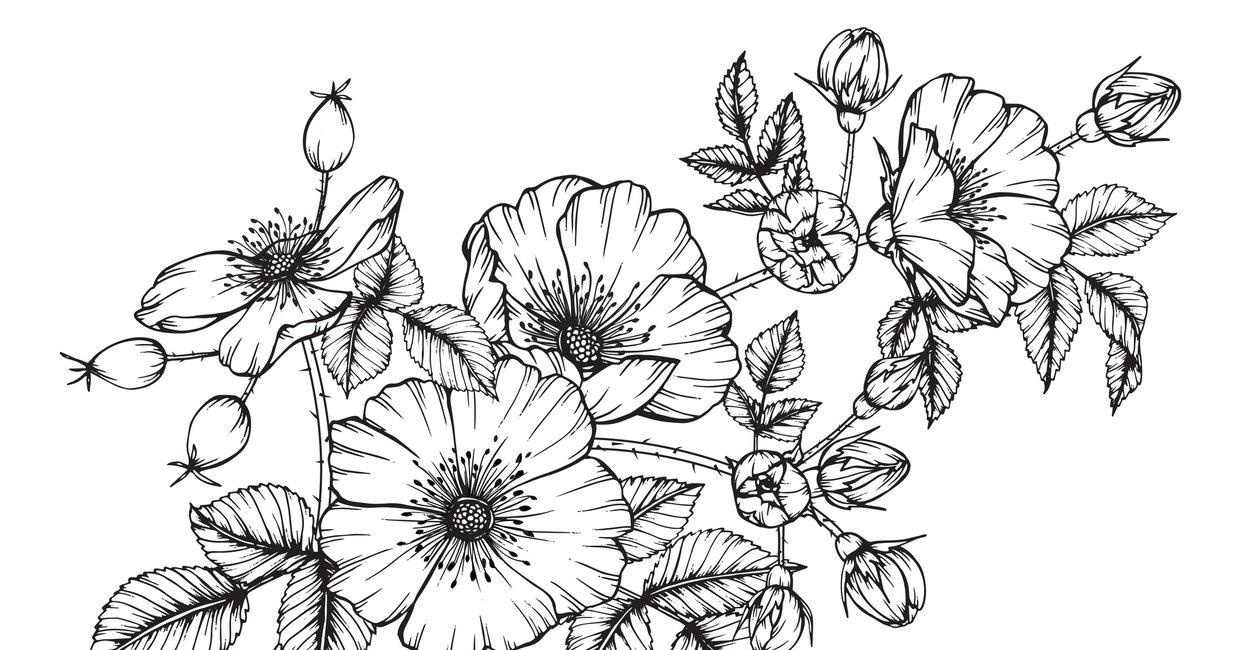 21 Vorlagen Für Dein Blumen Tattoo Desiredde