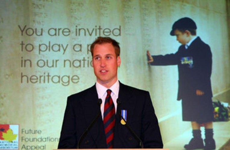 Prinz William unterstützt soziale Einrichtungen