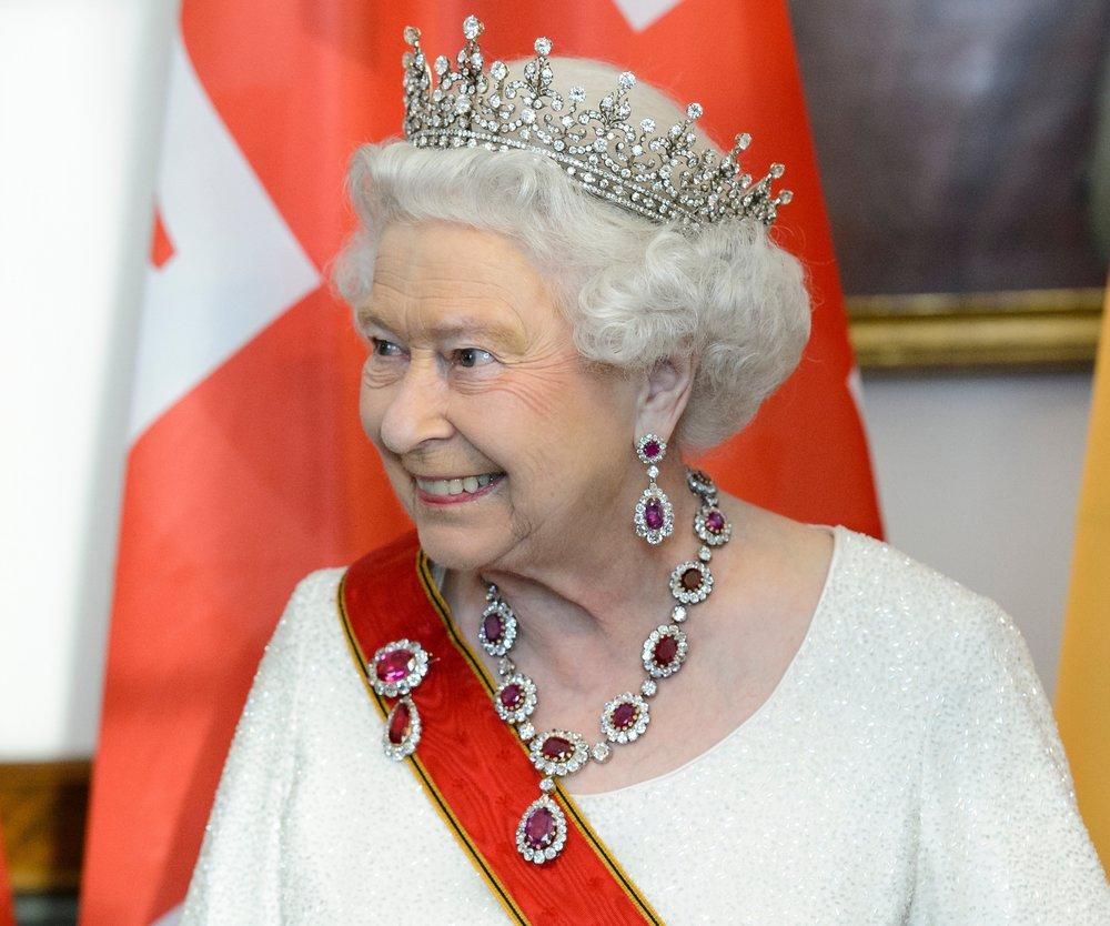 Queen Elizabeth reist heute nach Frankfurt