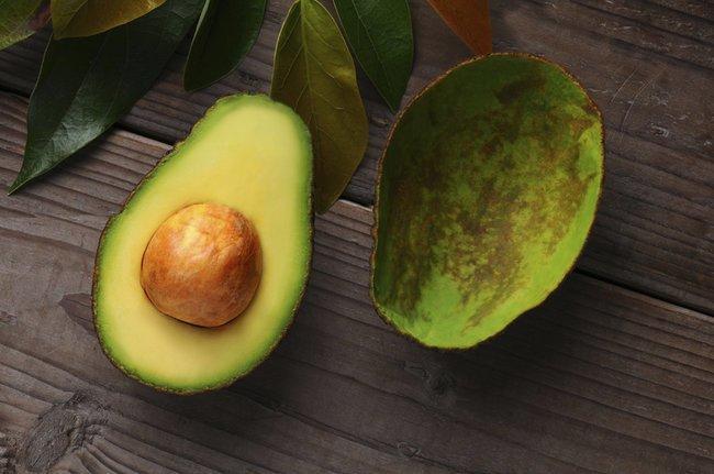 Ein echtes Superfood: Avocado. Stärkt die Augen, fördert die Blutbildung und fängt freie Radikale