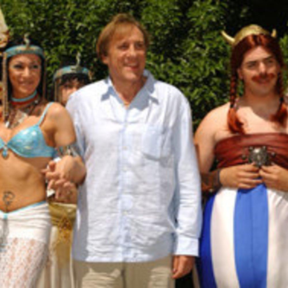 "Gérard Depardieu als ""Obelix"" heute in Sat 1"