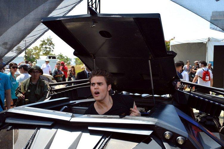 Paul Wesley auf der Comic Con in San Diego 2012.
