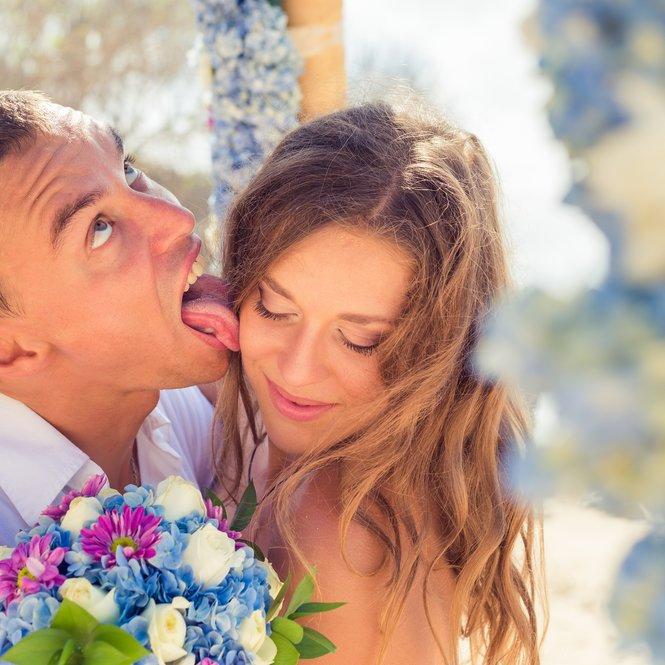 befremdliche Kussstile