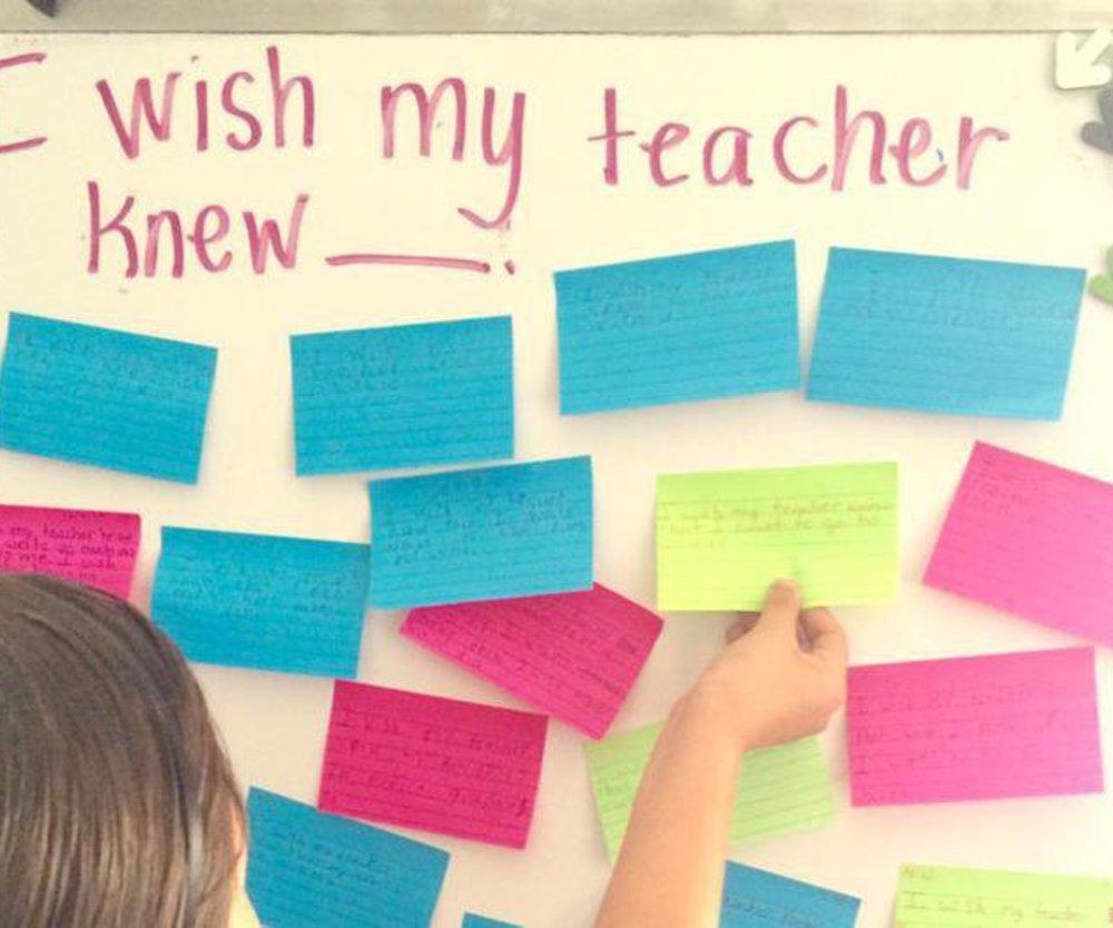 Lehrerin teilt ungewöhnliche Schulaufgabe auf Twitter