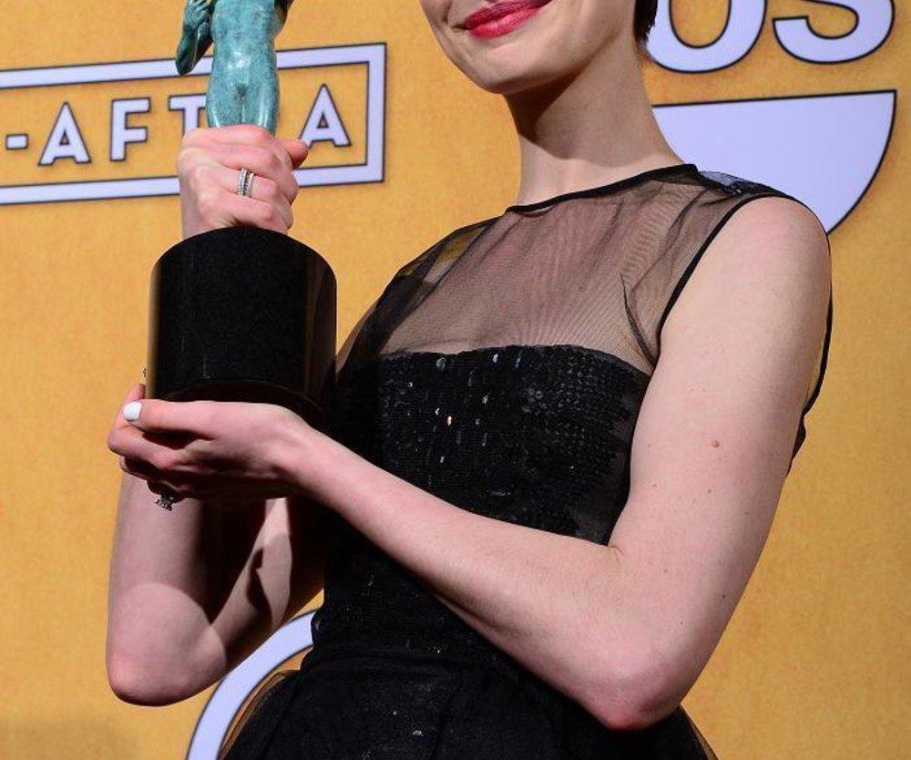 Anne Hathaway: Arbeitslos, aber glücklich!