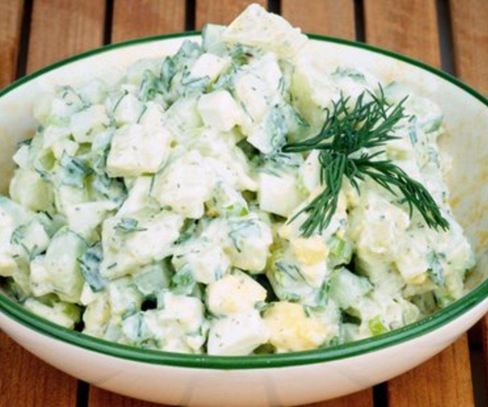 Kartoffel Gurkensalat