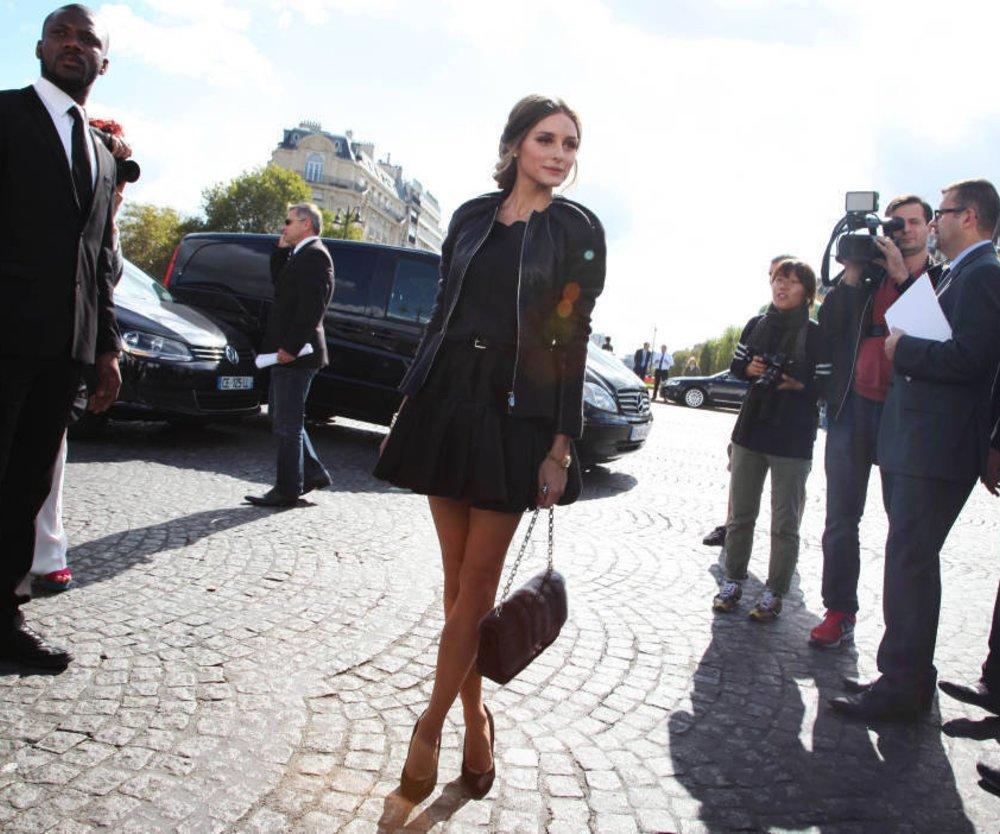 Olivia Palermo in Kampagne von Oscar de la Renta