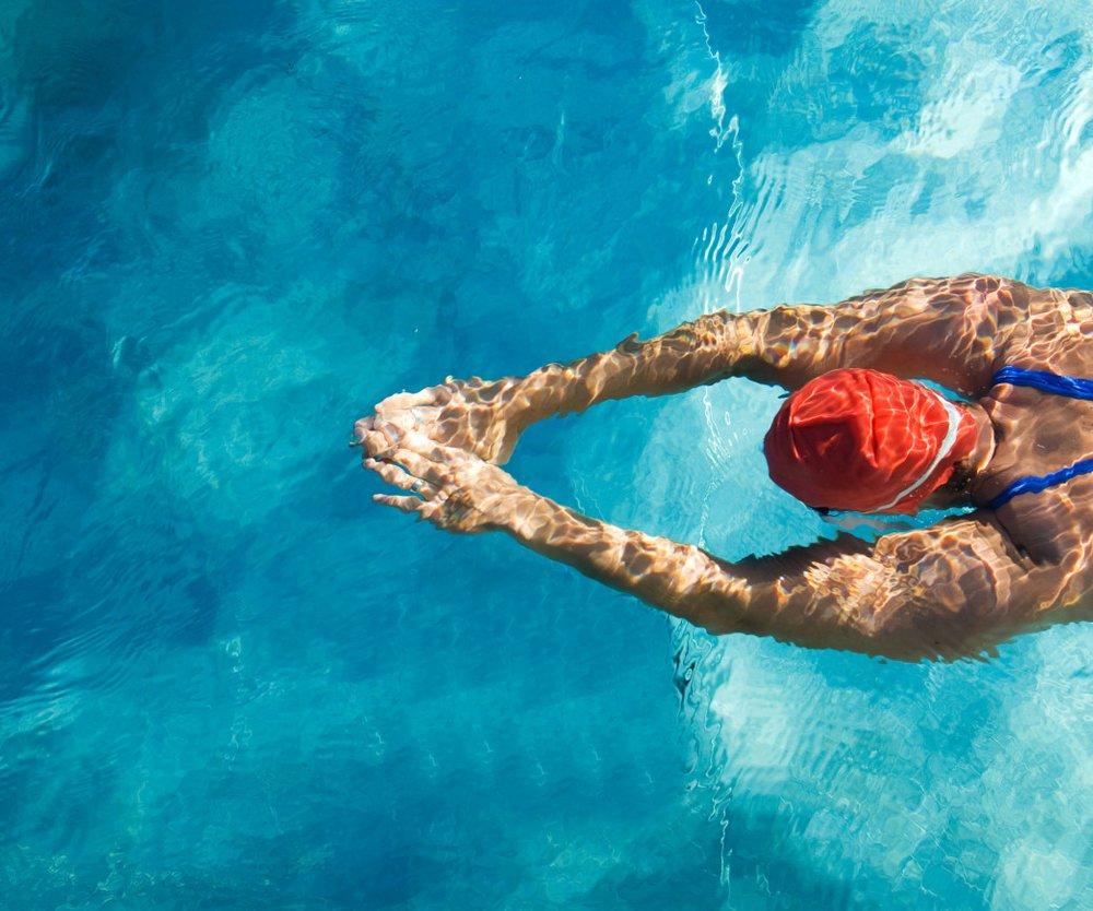 Schwimmen abnehmen