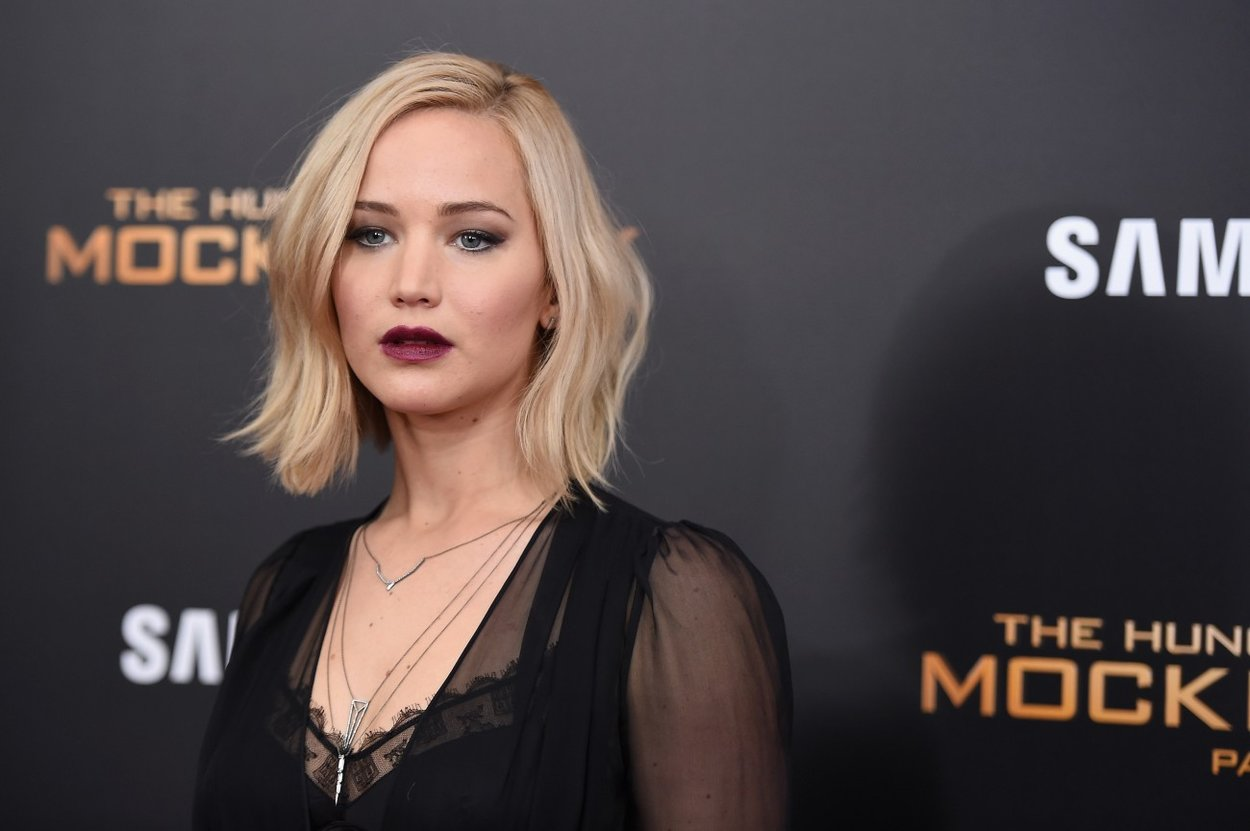"""attends """"The Hunger Games: Mockingjay- Part 2"""" New York Premiere at AMC Loews Lincoln Square 13 theater on November 18, 2015 in New York City."""