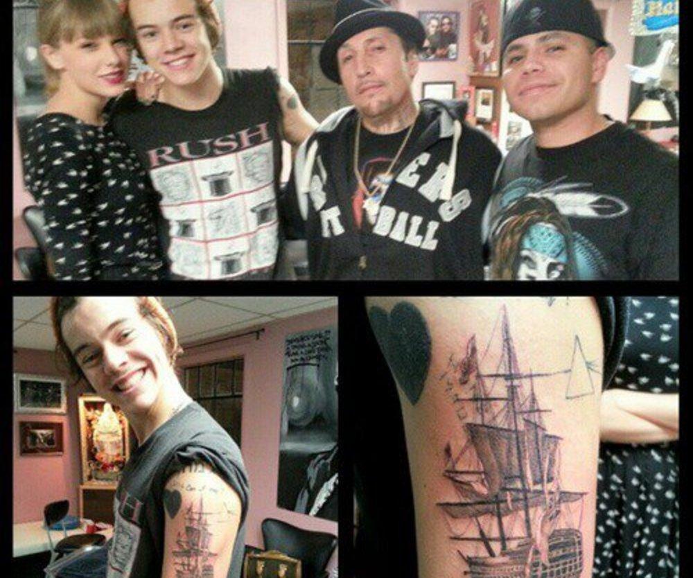 Harry Styles lässt sich ein neues Tattoo stechen
