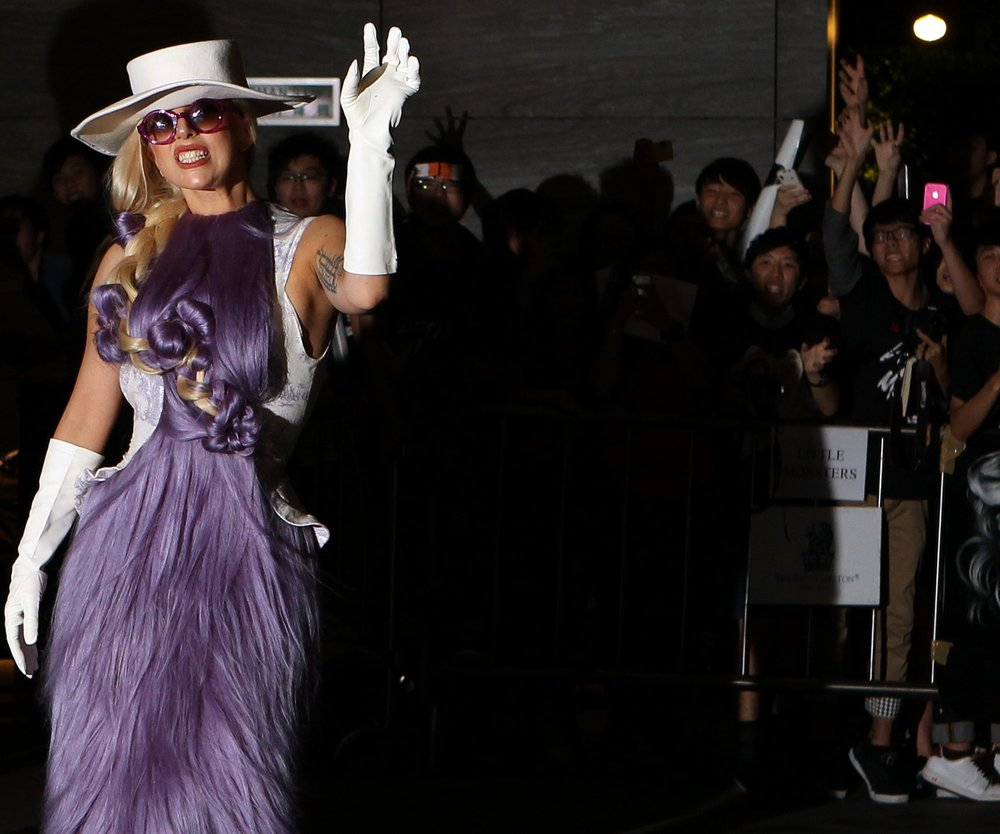 Lady Gaga erobert Hongkong