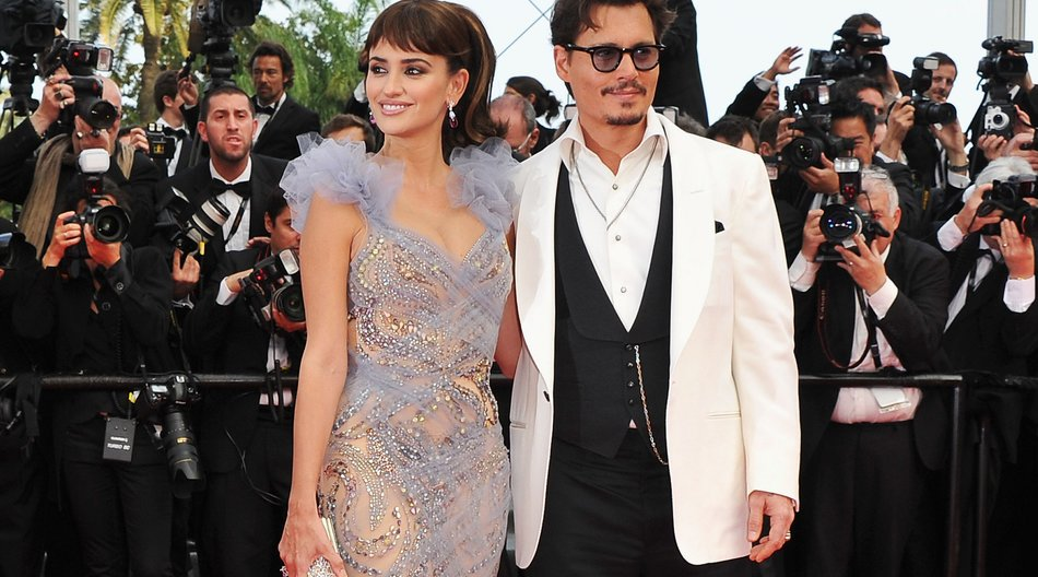 Cannes 2011: Johnny Depp sorgt für Kreischalarm!