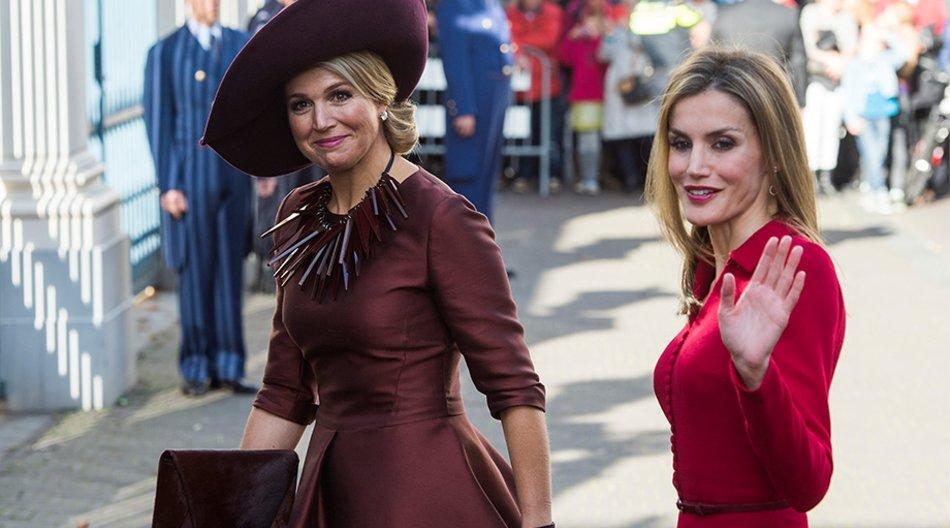 Königin Máxima und Königin Letizia