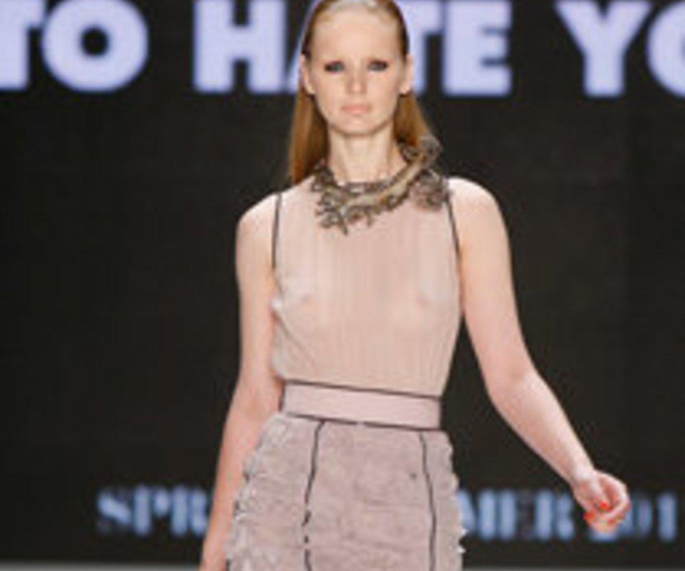 Marcel Ostertag eröffnet die Fashion Week