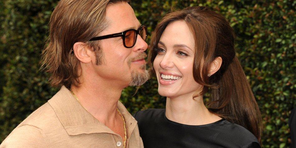 Brad Pitt und Angelina Jolie: Hochzeit im Mai?
