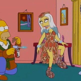 Lady Gaga besucht Springfield
