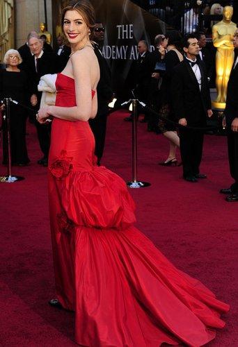 Oscars 2011: Anne Hathaway moderierte die Veranstaltung