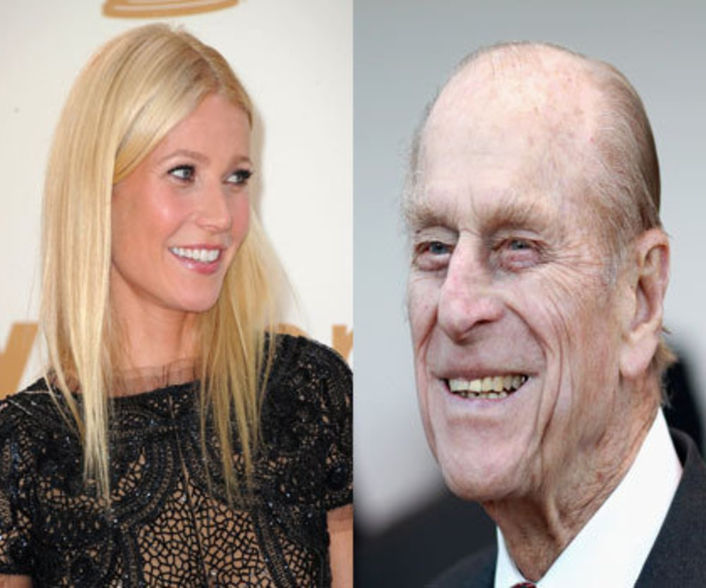 Gwyneth Paltrow verzaubert Prinz Philip