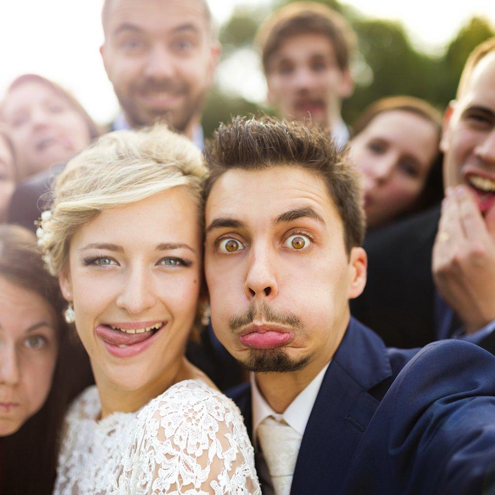 Welches Hochzeitsspiel passt zum Brautpaar?