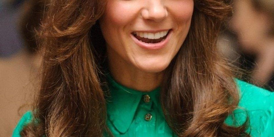 Kate Middleton ist sich mit ihrem neuen Haarschnitt unsicher