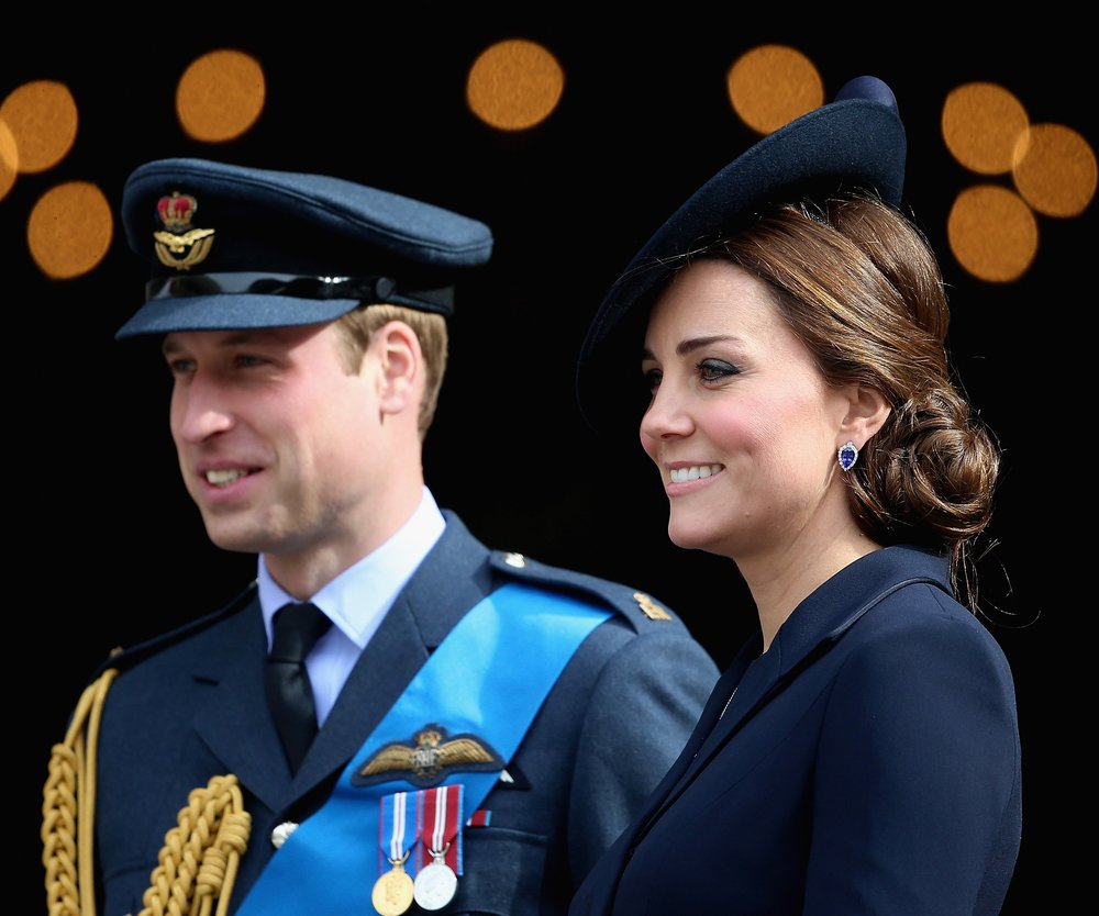 Kate Middleton und Prinz William empfangen Brangelina