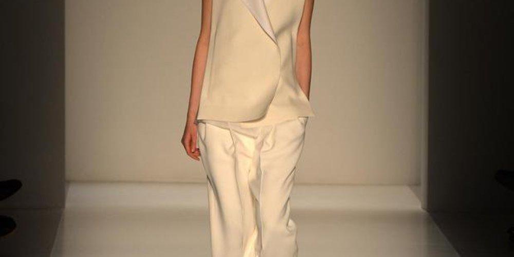 Victoria Beckham bei der New York Fashion Week F/W 14/15